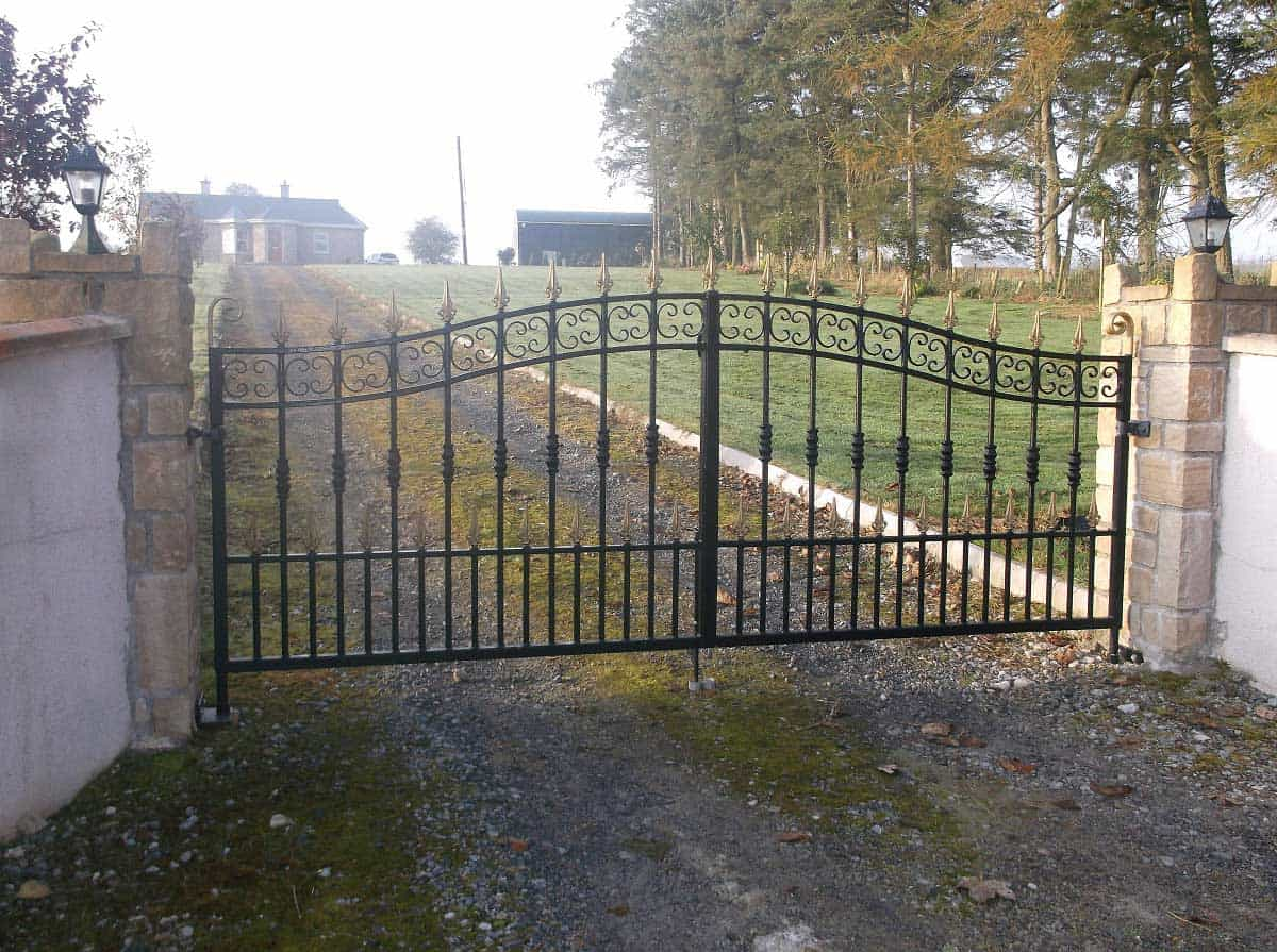 wrought iron gates mayo