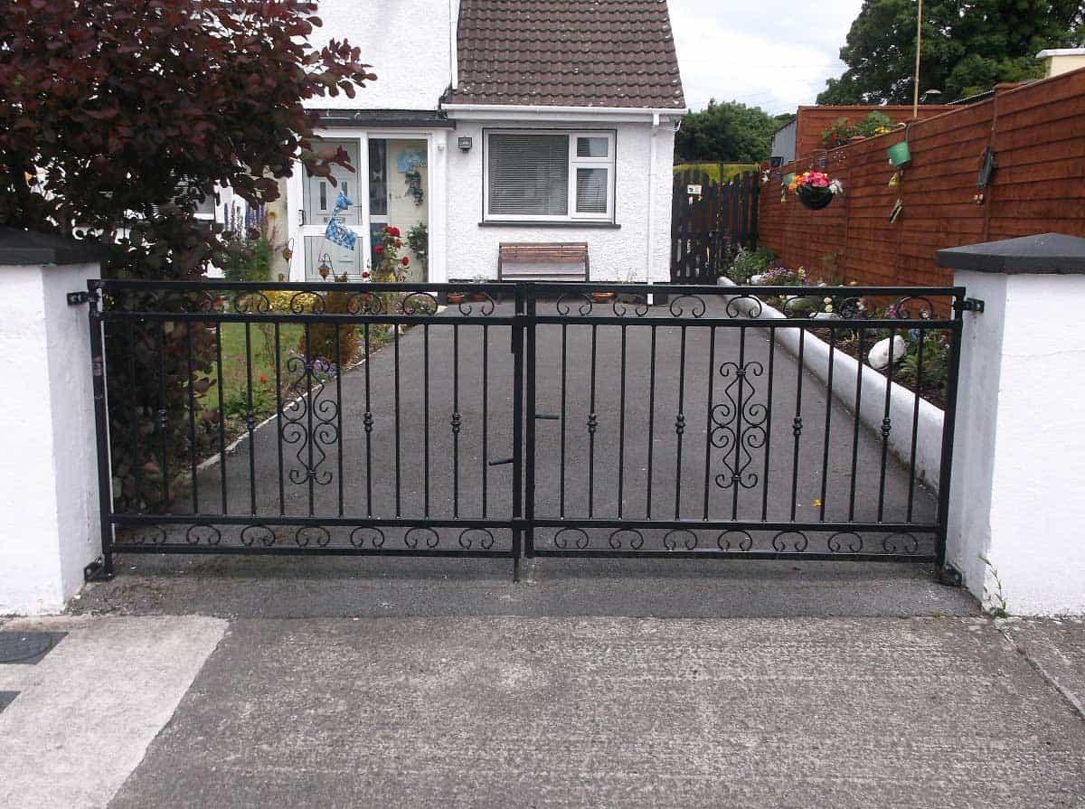 wrought iron gates sligo