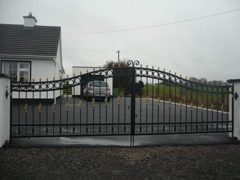 Entrance gates ireland