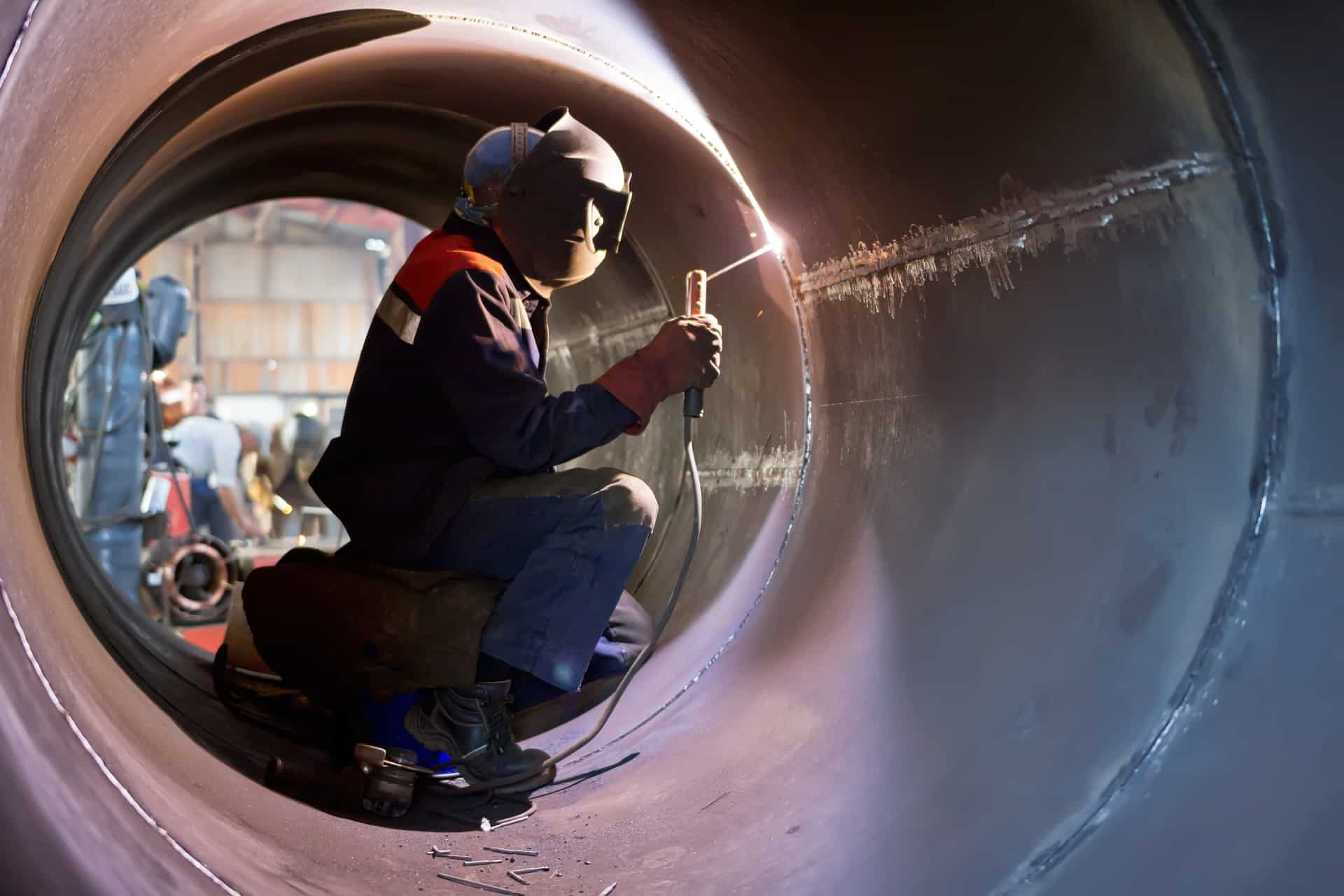 Pipe welding service